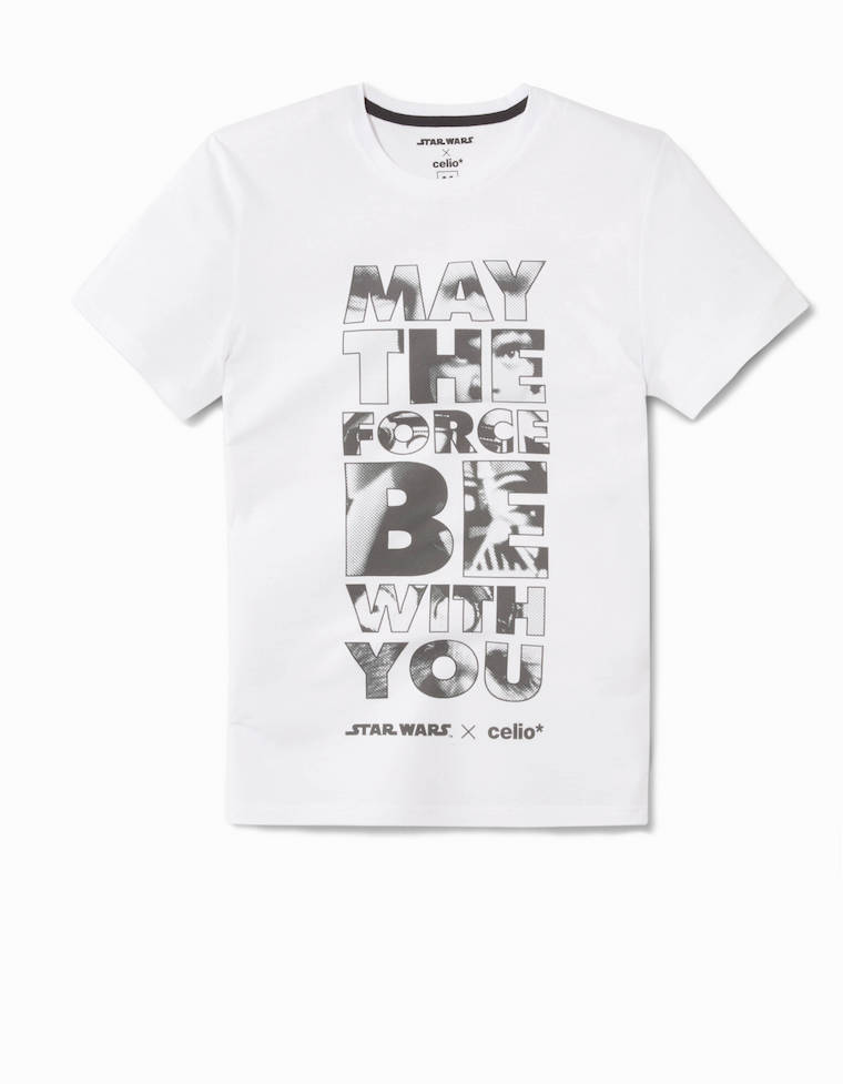 celio tee shirt coton may the force